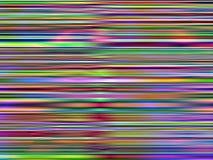 Il Rainbow unico allinea la priorità bassa di gradiente Fotografia Stock Libera da Diritti