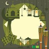 Il Ramadan molto struttura concentrare dell'elemento royalty illustrazione gratis