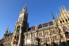 Il Rathaus di Monaco di Baviera Immagine Stock Libera da Diritti