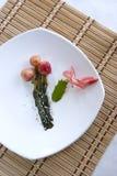 Il ravanello Kimchi con guarnisce. Fotografia Stock Libera da Diritti