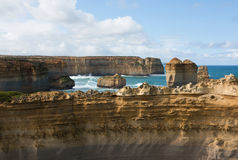 Il Razorback, grande strada dell'oceano, Victoria del sud, Australia Immagini Stock