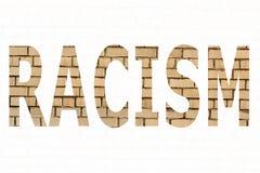 Il razzismo di parola Fotografia Stock