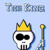 Il re Immagini Stock