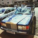 Il re dell'automobile immagini stock