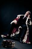 Il re guastato di affari Fotografie Stock Libere da Diritti