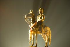 Il re Rama V Monument fotografia stock