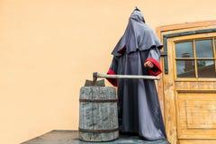 Il reaper e la boia grimmed Fotografia Stock Libera da Diritti
