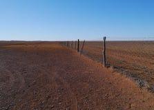 Il recinto australiano del dingo Fotografia Stock