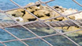 Il recinto sul pilastro Fotografia Stock