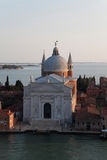 Il Redentore. The Basilica of Chiesa del Santissimo Redentore (Il Redentore) in Venice, Italy Stock Photos