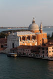Il Redentore. The Basilica of Chiesa del Santissimo Redentore (Il Redentore) in Venice, Italy Royalty Free Stock Photography