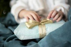Il regalo Fotografia Stock