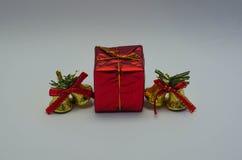 Il regalo del giorno di Natale Immagine Stock