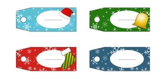 Il regalo etichetta (etichette) Illustrazione Vettoriale