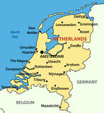 Il regno dei Paesi Bassi - vettore Fotografia Stock Libera da Diritti