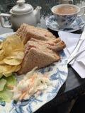 Il Regno Unito, Inghilterra, Nottingham, pranzo fotografia stock