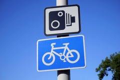 Il Regno Unito, segno di traffico stradale Fotografie Stock