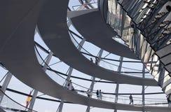 Il Reichstag a Berlino Immagini Stock Libere da Diritti