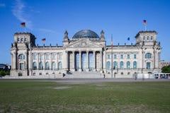 Il Reichstag a Berlino Immagine Stock