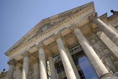 Il Reichstag, a Berlino, la Germania Fotografie Stock Libere da Diritti