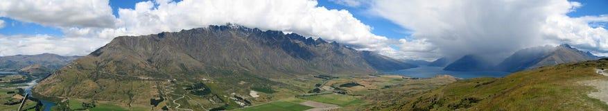 Il Remarkables, Nuova Zelanda Fotografia Stock
