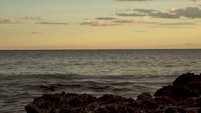 Il renega a Oropesa Del Mar stock footage