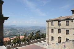 Il Republic Of San Marino Fotografia Stock Libera da Diritti
