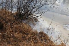 Il respiro dell'inverno immagini stock