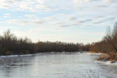 Il respiro dell'inverno fotografie stock