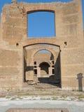 Il resti antico di una città romana del Lazio - l'Italia 09 Fotografia Stock