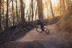 Il resto sulla bici fotografia stock