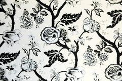 Il reticolo di fiore del documento della parete Fotografia Stock
