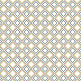 Il retro cubo a quadretti piastrella il modello geometrico dei quadrati arrotondato colore Fotografia Stock