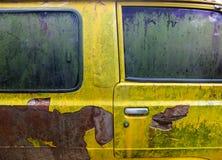 Il retro furgone Fotografia Stock Libera da Diritti