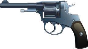 Il revolver del sistema   immagini stock