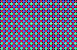 Il RGB Defocused piombo il quadro comandi del diodo Fotografia Stock Libera da Diritti