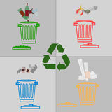 Il riciclaggio è il dovere Immagini Stock