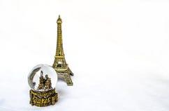 Il ricordo della torre Eiffel fotografia stock