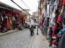 Il ricordo si blocca in La Paz Immagine Stock Libera da Diritti