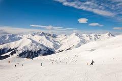 Il ricorso Mayrhofen, Austria di inverno Fotografie Stock Libere da Diritti