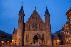 Il Ridderzaal al Binnenhof a L'aia Fotografia Stock