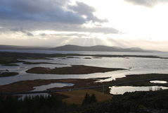 Il Ridge Mid-Atlantic islandese. fotografie stock
