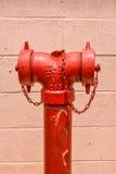 Il rifornimento idrico di emergenza Fotografia Stock