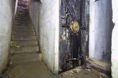 Il riparo sotterraneo Fotografia Stock