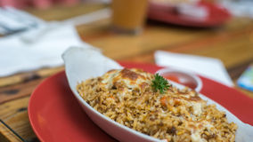 Il riso al forno Fotografie Stock