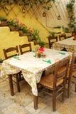 Il ristorante a Corfù Fotografia Stock Libera da Diritti