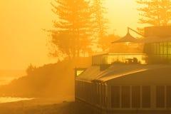 Il primo piano del ristorante dall'oceano in Burleigh si dirige Fotografia Stock