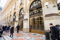 Il ristorante di lusso si è aperto dal cuoco unico italiano famoso Carlo Cracco Immagini Stock