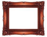 Il ritaglio barrocco di alta risoluzione della struttura di stile su bianco ha isolato lo spirito Immagine Stock