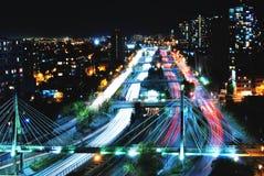 Il ritmo della notte Immagini Stock Libere da Diritti